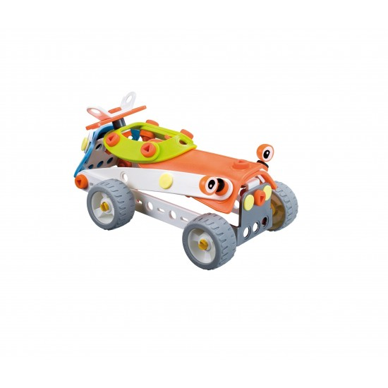 Set construcţie 4 în 1 Meccano Build & Play - Elicopter, 109 piese