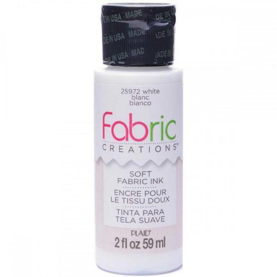 Vopsea textila Fabric Creations - Alb 59 ml