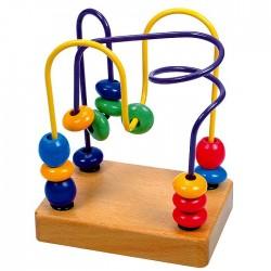 Jucarie dexteritate - circuit cu bile - Bino