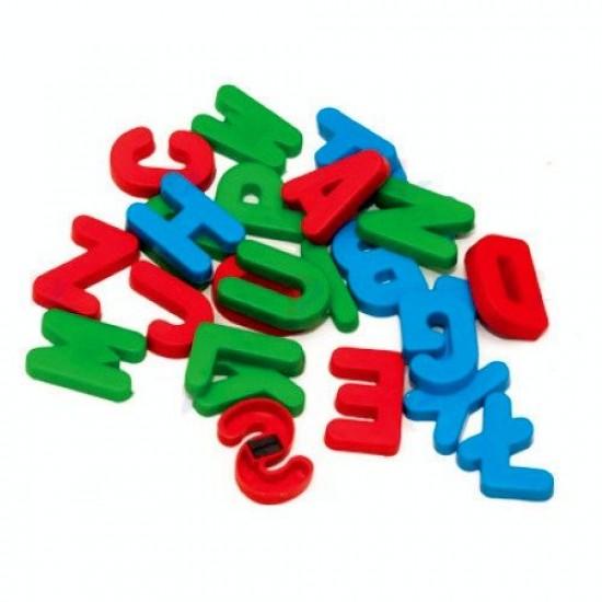 Tabla de scris completa 2 in 1, cu suport si accesorii, pentru copii - multicolora