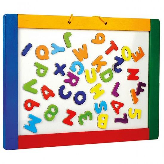 Tabla magnetica si de scris cu creta - Bino