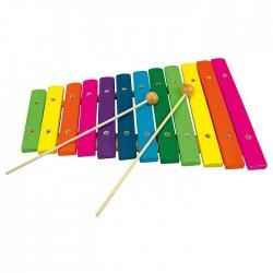 Xilofon din lemn - 12 note - Bino